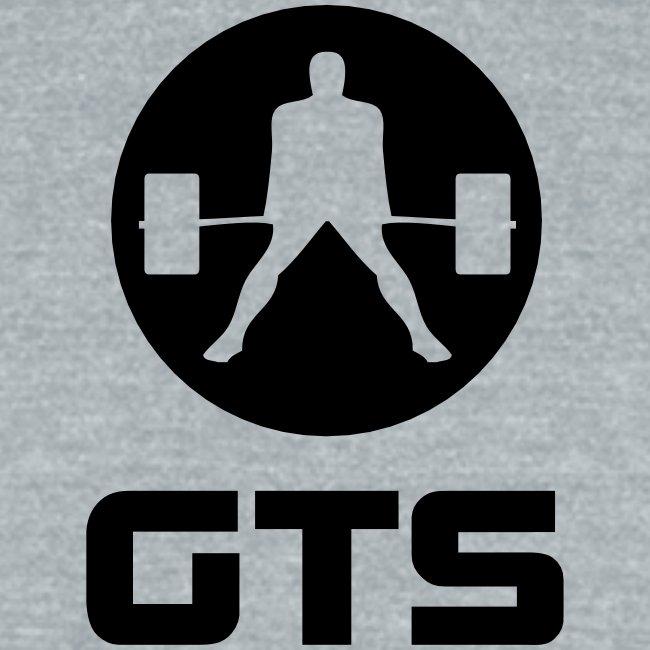 GTS Deadlifter Black AA Tri-Blend Gray