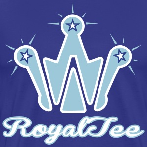 West Royal Tee Tar Heel/front & back - Men's Premium T-Shirt