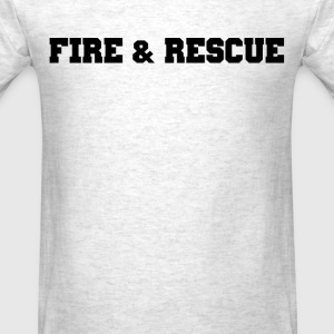 Fire and Rescue T-shirt 1 - Men's T-Shirt