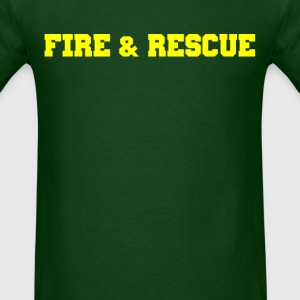 Fire and Rescue T-shirt 3 - Men's T-Shirt