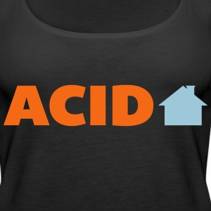 Acid House  Tanks - Women's Premium Tank Top