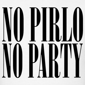 No Pirlo No Party Juventus - Men's T-Shirt
