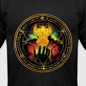 Ed Transmutation Circle - Men's T-Shirt by American Apparel