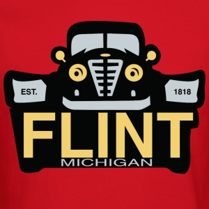 Flint Cars Michigan Classic Long Sleeve Shirts - Crewneck Sweatshirt