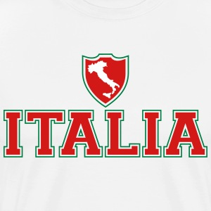 Italia shield T-Shirts - Men's Premium T-Shirt