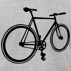 fixie T-Shirts - Men's T-Shirt by American Apparel