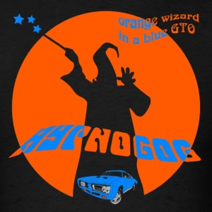 HypNoGoG - Orange Wizard (shirt) T-Shirts - Men's T-Shirt
