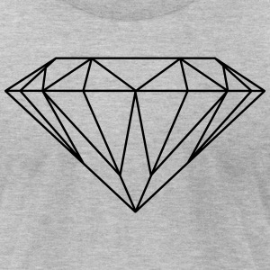 diamond T-Shirts - Men's T-Shirt by American Apparel