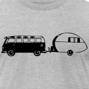 mobile home T-Shirts - Men's T-Shirt by American Apparel
