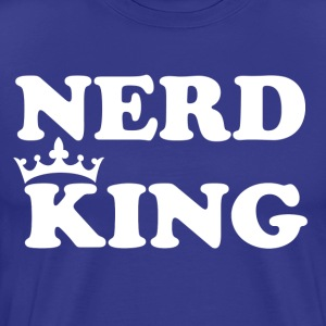 Nerd King - Men's Premium T-Shirt