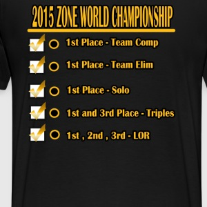 ZONE CHAMPS - Men's Premium T-Shirt