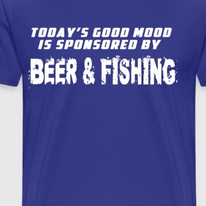 Good mood beer & fishing T-Shirts - Men's Premium T-Shirt