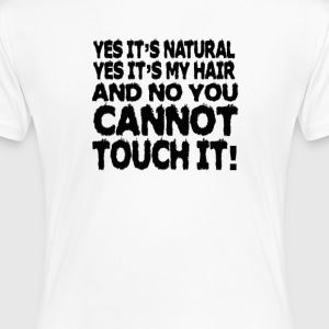 Natural Hair - Women's Premium T-Shirt