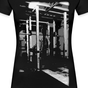 Bodybuilding - Squat Rack Women's T-Shirts - Women's Premium T-Shirt