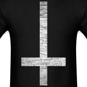 Inverted Cross Weathered T-Shirts - Men's T-Shirt