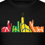 Design ~ Hawks Chicago Skyline