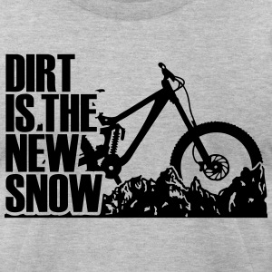 dirt is the new Snow RM T-Shirts - Men's T-Shirt by American Apparel