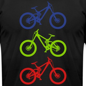 dirt 3er T-Shirts - Men's T-Shirt by American Apparel