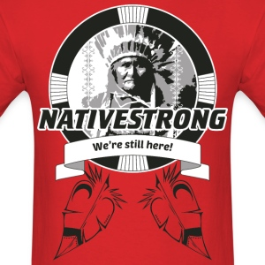 ss_nstrong2_back T-Shirts - Men's T-Shirt