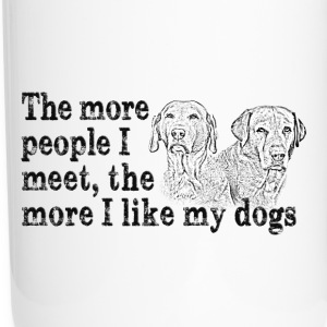 The more people I meet... Mugs & Drinkware - Travel Mug