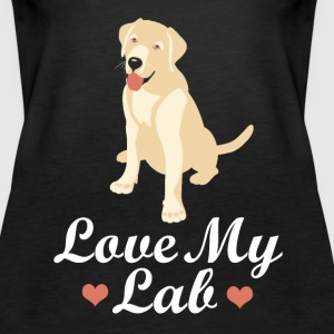 labrador love Tanks - Women's Premium Tank Top