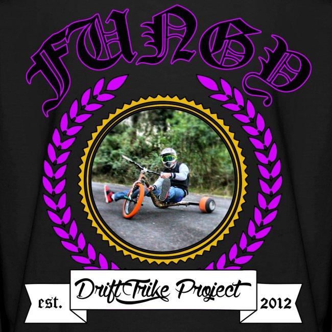 Kids purple Fungy long sleeve T