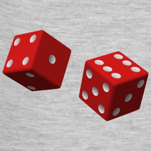 two red dice - Baby Contrast One Piece