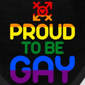 Proud to be Gay (colored) Caps - Bandana