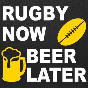 Rugby Now Beer Later Bags & backpacks - Tote Bag