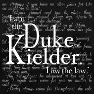 Design ~ I Am The Law, dark
