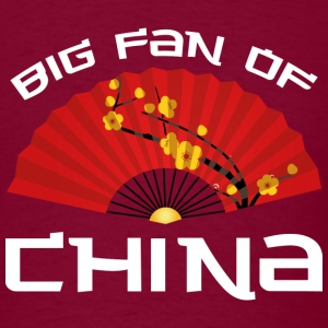 Big Fan Of China - Men's T-Shirt