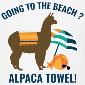 Alpaca Towel - Men's T-Shirt