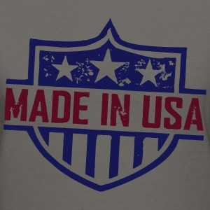 Made_In_USA Women's T-Shirts - Women's V-Neck T-Shirt