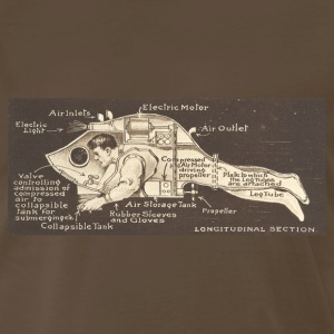 Steampunk Submersible  - Men's Premium T-Shirt