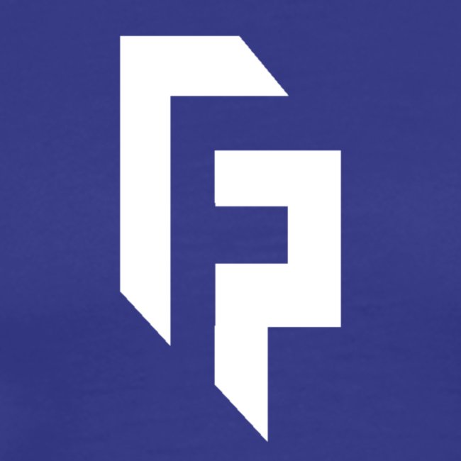 White Randomfrankp Logo