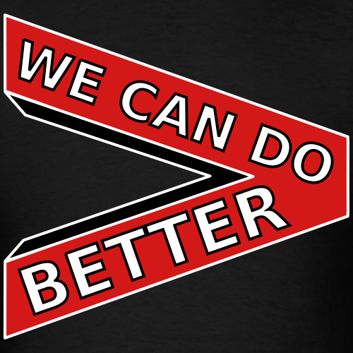 We Can Do Better 3D