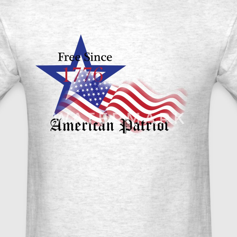 Free Since 1776 American Patriot T-Shirts - Men's T-Shirt