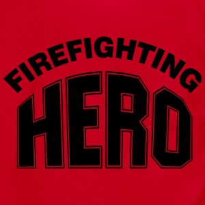 Firefighting Hero Zip Hoodies & Jackets - Unisex Fleece Zip Hoodie by American Apparel