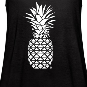 AD Geometric Pineapple Tanks - Women's Flowy Tank Top by Bella