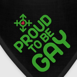 Proud to be Gay (2c) Caps - Bandana