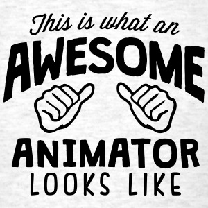 awesome animator looks like - Men's T-Shirt