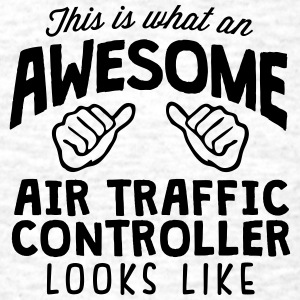awesome air traffic controller looks lik - Men's T-Shirt