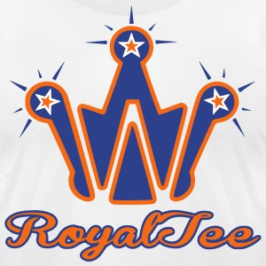 West RoyalTee  Denver Bronco - Men's T-Shirt by American Apparel