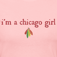 Design ~ I'm a Chicago Girl - Hockey