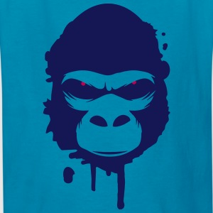 A gorilla head Graffiti Kids' Shirts - Kids' T-Shirt