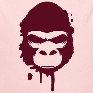 A gorilla head Graffiti Baby & Toddler Shirts - Long Sleeve Baby Bodysuit