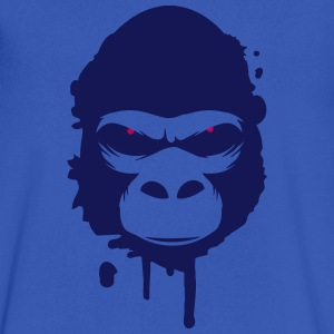 A gorilla head Graffiti T-Shirts - Men's V-Neck T-Shirt by Canvas