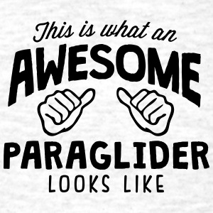 awesome paraglider looks like - Men's T-Shirt