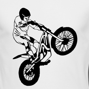 Trial Racing Long Sleeve Shirts - Men's Long Sleeve T-Shirt by Next Level