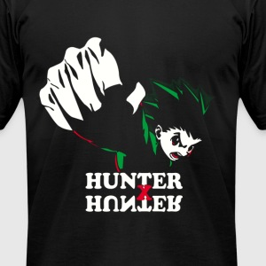 Hunter Punch - Men's T-Shirt by American Apparel